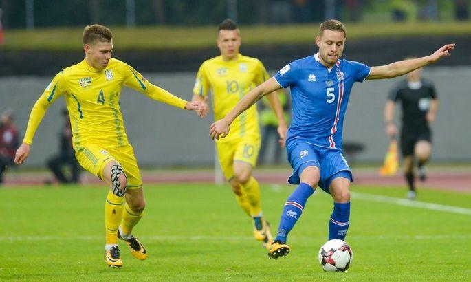 Результаты матча Исландия-Украина